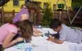 Děti se do svých soutěžních úkolů položily s veškerým zaujetím. Foto: os. archiv