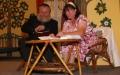 Scéna z nově nastudované hry Mandarinkový pokoj. Foto: Šamša
