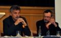 Starosta Jaroslav Sykáček (vlevo) a místostarosta Ladislav Pokorný se při zasedání zastupitelstva veřejně distancovali od svého kolegy Darka Švába a obvinili ho z manipulace veřejnými zakázkami. Foto: md