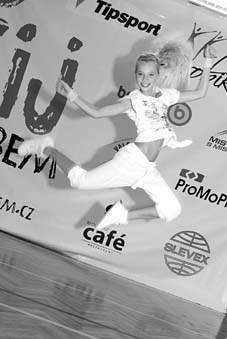 Andrea Frolíková, vítězka soutěže