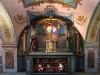 Svaté schody v ambitu Lorety v Rumburku, výjev Ukřižování a očistce v kapli Kalvárie, foto Jiří Stejskal