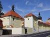 Svaté schody v Loretě v Rumburku, stav po obnově fasády a ohradní zdi, foto Klára Mágrová