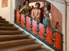 Svaté schody v ambitu Lorety v Rumburku, detail sochařské výzdoby s výjevem Ecce homo, foto Jiří Stejskal